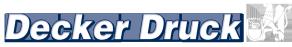 Decker Druck GmbH & Co. KG - Die Druckerei in Neuss seit 1945!